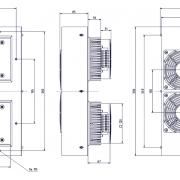 Schaltschrankkühler Serie Standard